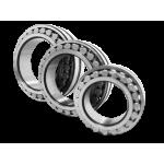 Роликовые радиальные с короткими цилиндрическими роликами двухрядные