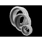 Роликовые радиальные игольчатые однорядные с наружным и внутренними кольцами без сепаратора